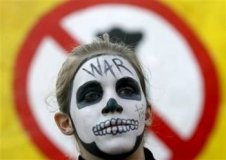 protest face painting idea