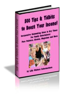 500 tips to increase your face painting income