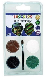 Camouflage face painting information