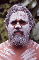 Aboriginal Face Painting