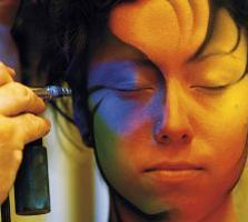 airbrush face painting by Pashur