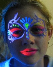 UV face art