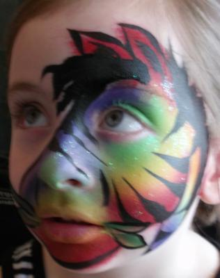 Rainbow Zebra (click on the smaller images to Enlarge)