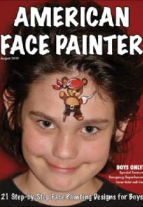American Face Painter Magazine Boys Only