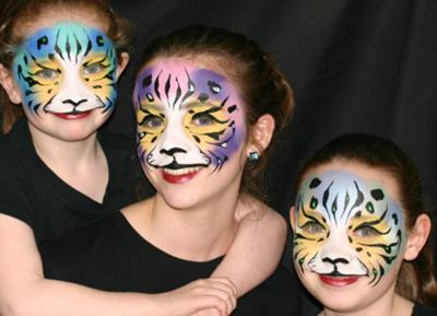 3 Tigers (Click on smaller images to enlarge)