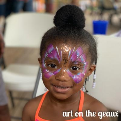 Art on the Geaux Face Painting Covington LA