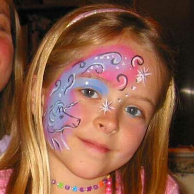 Magical Unicorn Face Painting