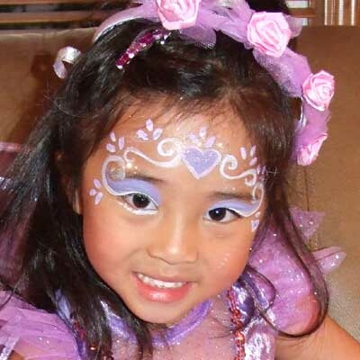 Beautiful Princess Party Face Painting