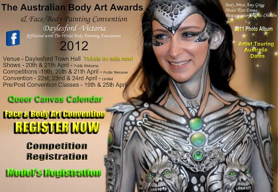 Face Painting and Body Art Convention