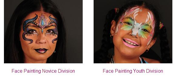 award winning face painting novice