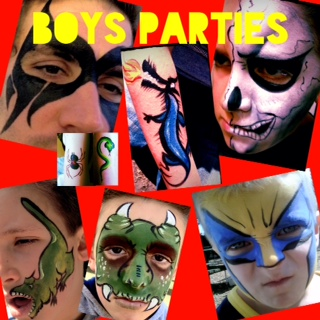 Boys Faces (Click on smaller images to Enlarge)