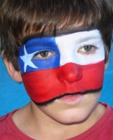 Chilean football fan