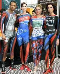 Commercial Body Painting crew