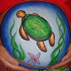 Belly Art (Click on the smaller images to Enlarge)