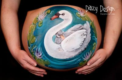 Baby Belly Art