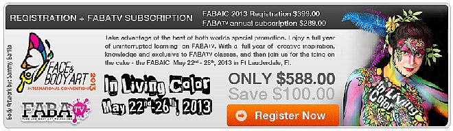 FABAIC 2013 Registration