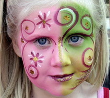 face painting idea fairy