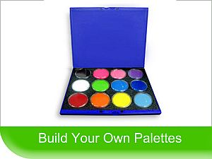 Click to View - Custom Face Paint Palettes