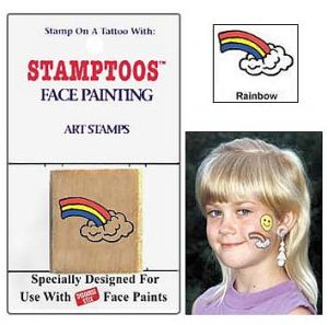 Snazaroo face painting stamps