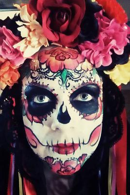 Sugar Skull (Click on smaller images to Enlarge)