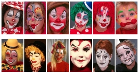 free face painting design