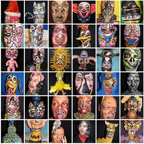 365 face painting ideas - James Kuhn