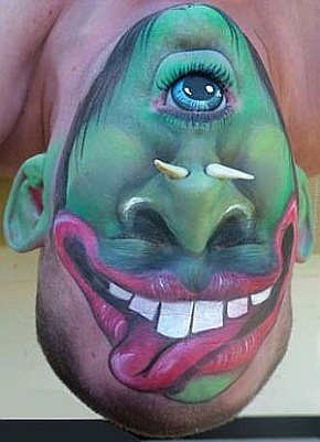 face painting examples fun different - Fun Pictures To Paint