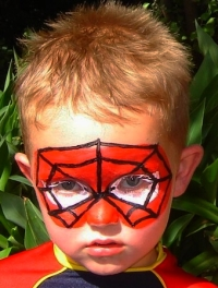 Free Face Painting Spider Man