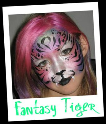 Fantasy Tiger (click on the smaller images to enlarge)