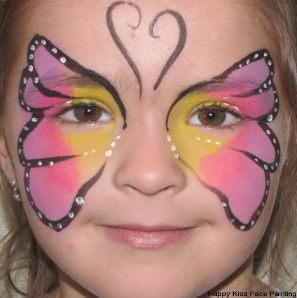 Kids Painting on Happy Kids Face Painting 21494085 Jpg