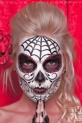 Sugar Skull (Click on the smaller images to Enlarge)