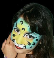 High Jinks Tiger Face Painting Art
