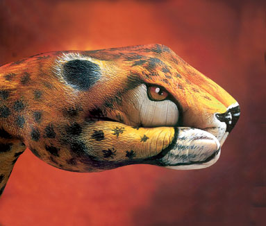 Hand art of Guido Daniele