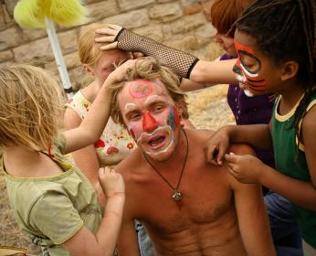 Kids face painting party