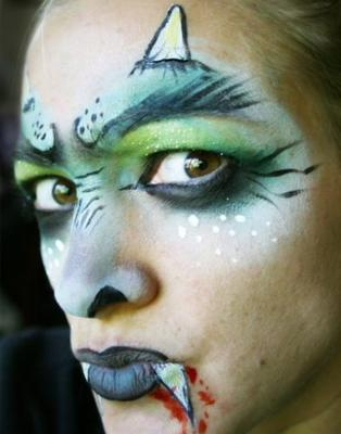 Adult face painting