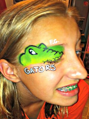 Gators Swim Team (Click on smaller images to Enlarge)