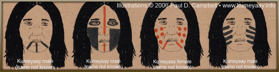 Indian Face Painting