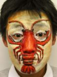 lobster face painting
