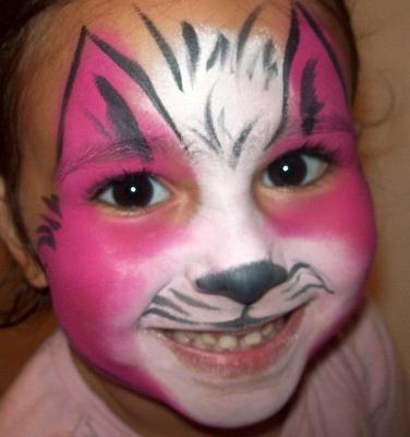 Gallery For gt Cute Cat Face Paint