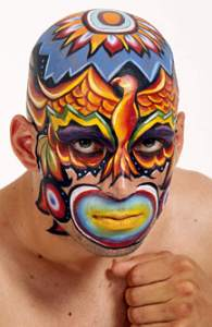Award winning face painting by Lymari Millot