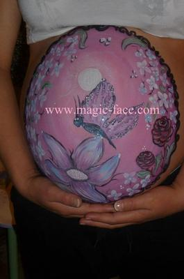 Belly Art (Click on smaller images too enlarge)