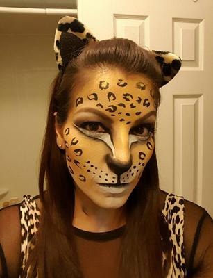 Leopard Girl (Click on the smaller images to Enlarge)