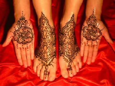 Mehndi (Click on smaller images to enlarge)