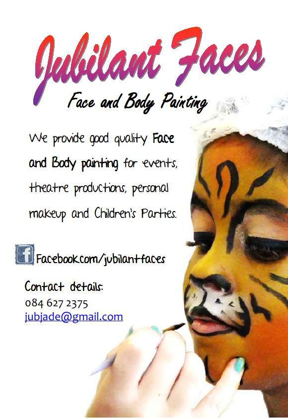 Face Painting Photo And Disclaimer Form Uk