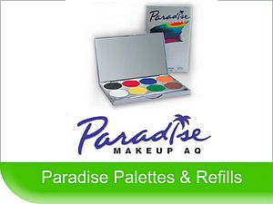Click to View - Paradise Face Paint Palettes & Refills