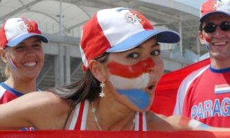 Paraguay football fans