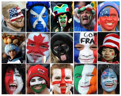 Rugby World Cup Fans 2011