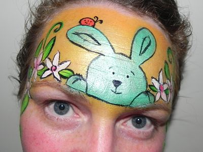 Images of Easter Face Painting - The Miracle of Easter