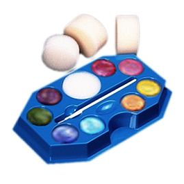 Click to Buy Snazaroo Sparkle Face Paint Palette