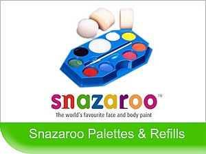 Click to View - Snazaroo Face Paint Palettes & Refills
